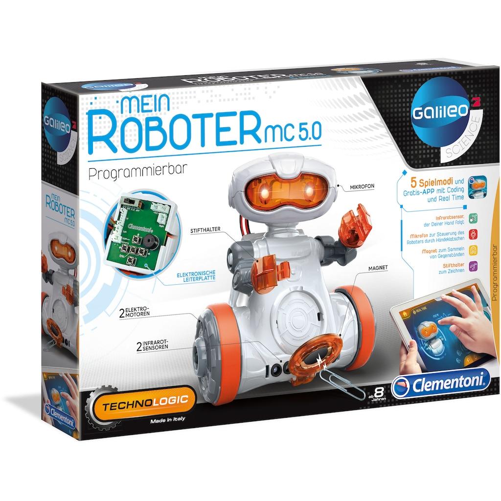 Clementoni® Experimentierkasten »Galileo - Mein Roboter MC5.0«, Made in Europe
