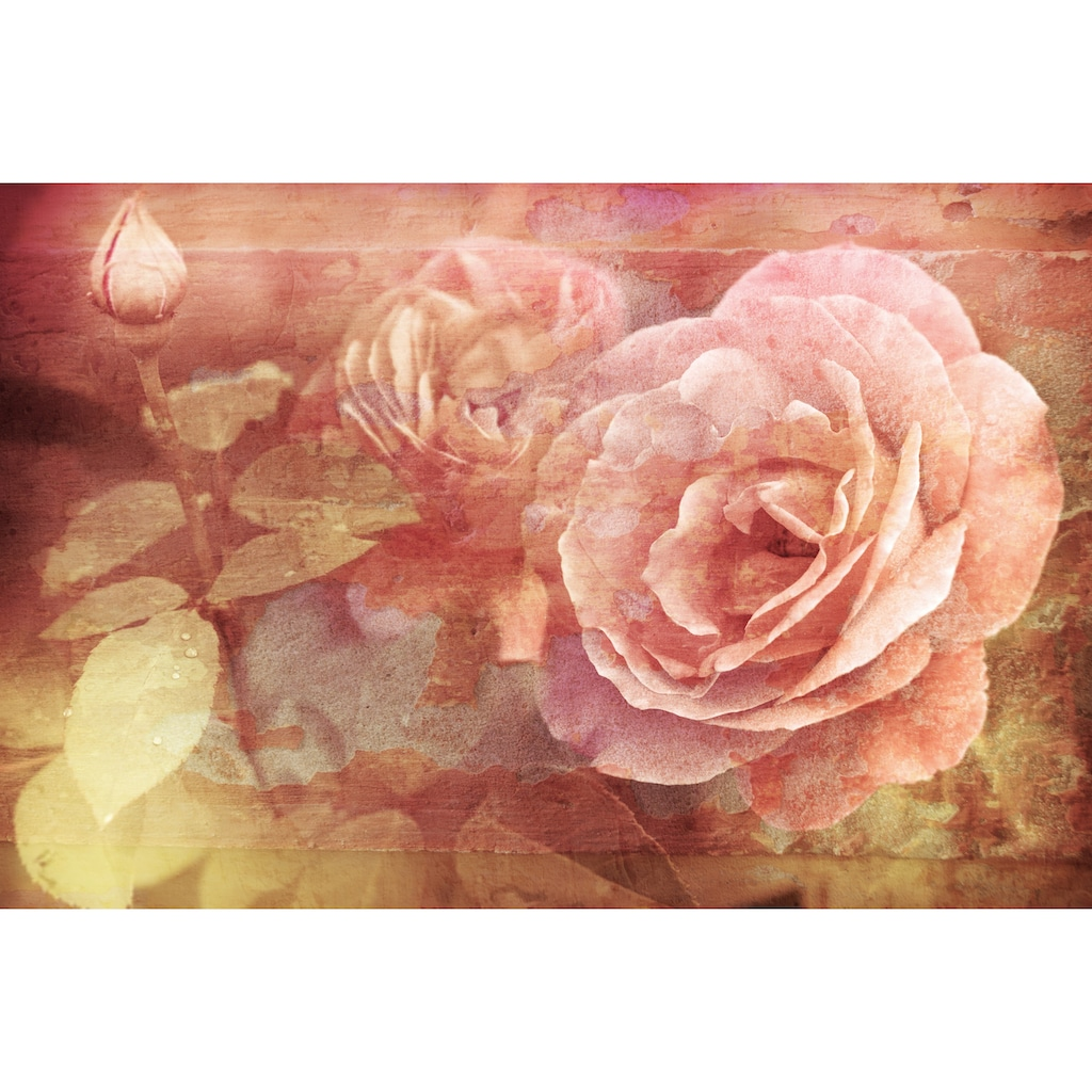 Papermoon Fototapete »Vintage Florals«