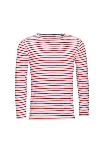 SOLS T-Shirt »Herren Marine, gestreift, langärmlig« kaufen