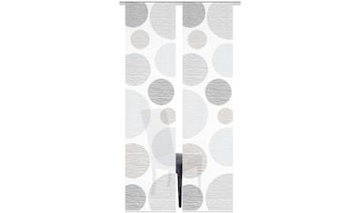 Vision S Schiebegardine »2ER SET BORDEN«, HxB: 260x60, Schiebevorhang 2er Set Digitaldruck kaufen