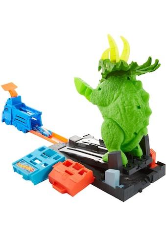 """Hot Wheels Autorennbahn """"City Dino Triceratops - Angriff Set"""" kaufen"""