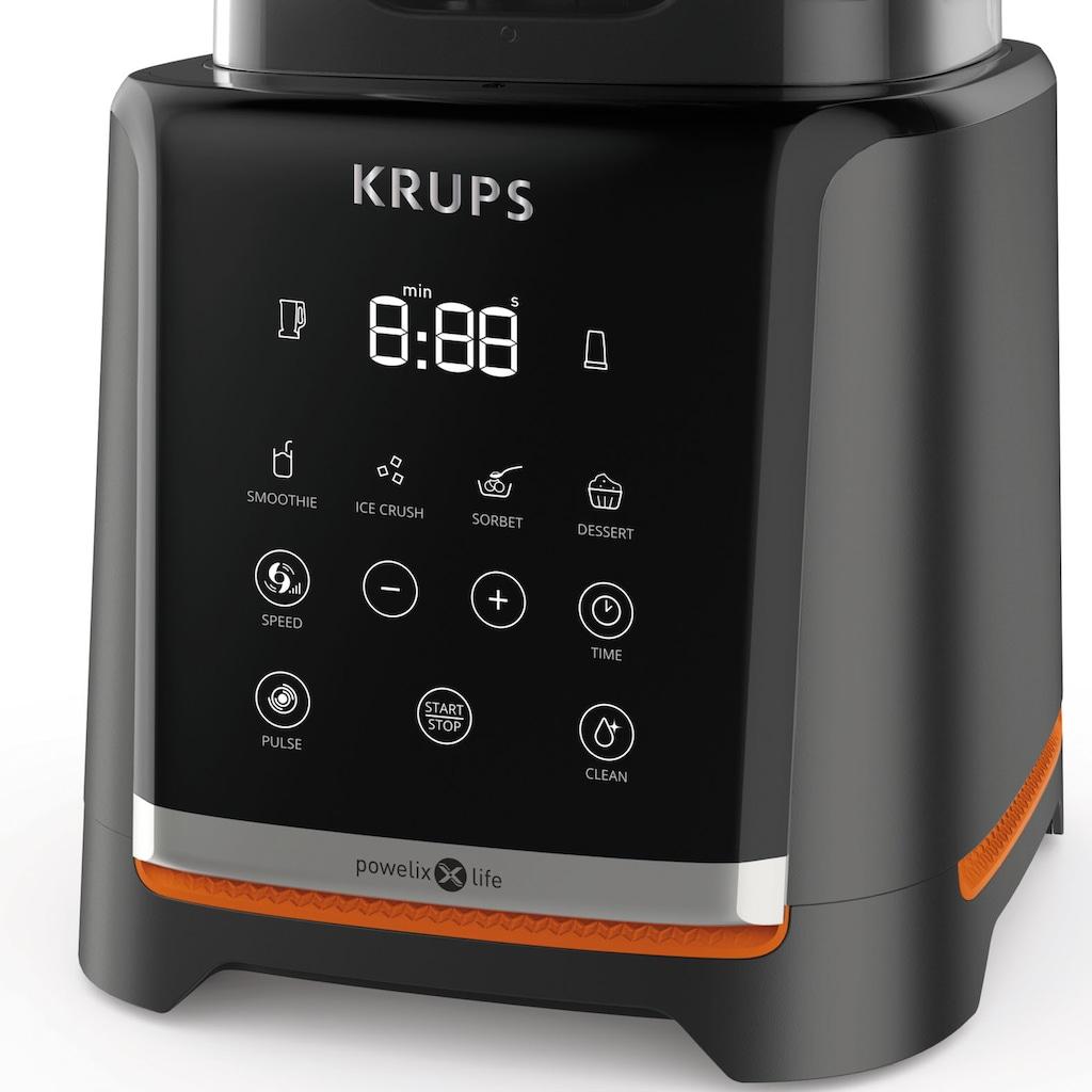 Krups Standmixer »KB9158 InfinyMix«, 1600 W, 1,75L Tritanbehälter; 5 automatische Programme; inkl. Stampfer und Rezeptheft