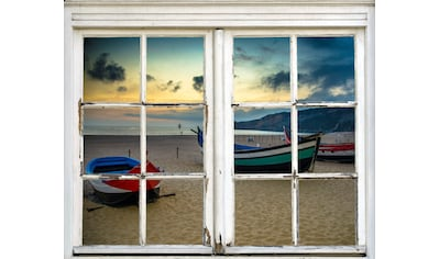 queence Wandsticker »Boote am Strand« kaufen
