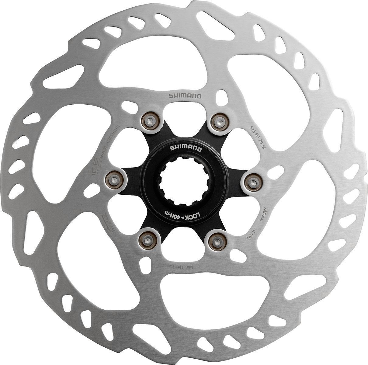 Shimano Bremsscheibe SM-RT70M (1-tlg) Technik & Freizeit/Sport & Freizeit/Fahrräder & Zubehör/Fahrradzubehör/Fahrradteile/Fahrradbremsen