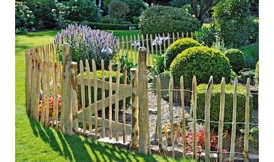 T&J Gartenzaun »Rollzaun Rosswell 1«, 90 cm hoch, 2 Elemente + 1 Tür für 11 Meter... kaufen