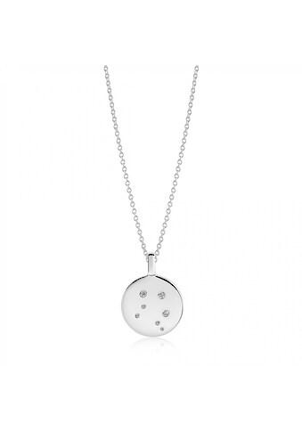 Sif Jakobs Jewellery Halskette Waage  -  Silber mit weißen gefassten Zirkonia »ZODIACO LIBRA« kaufen