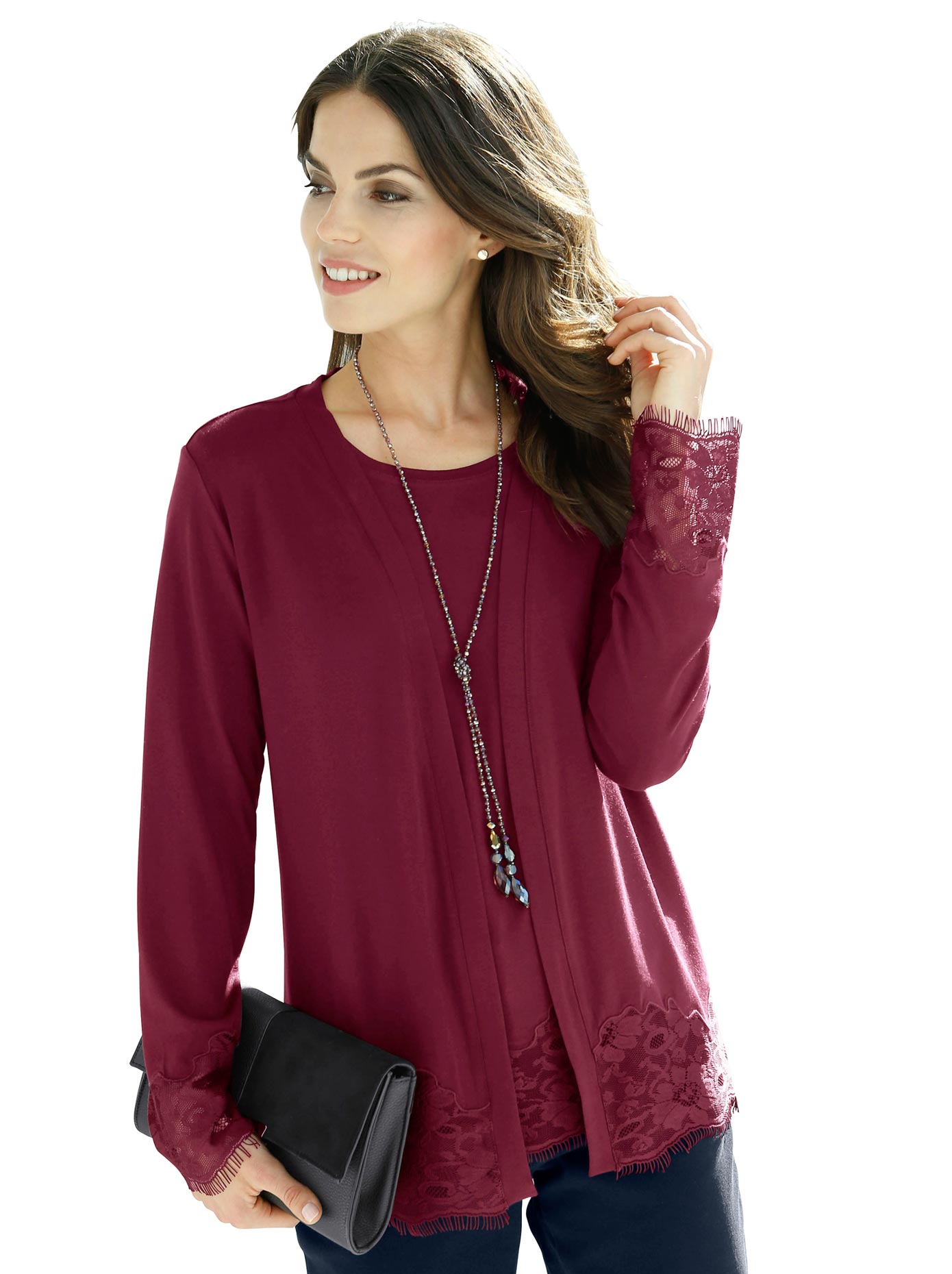 Fair Lady Shirtjacke in offener Form | Bekleidung > Shirts > Shirtjacken | Lady
