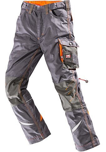 BULLSTAR Arbeitshose »Kinderhose Ultra«, grau - orange kaufen