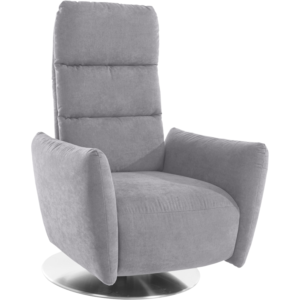 Leonique Relaxsessel »Delano Luxus«, in 3 Größen S-M-L, belastbar bis ca.140 kg, mit Vario-Kopfteilverstellung, Drehfunktion und integrierter Fußstütze, wahlweise manuell oder motorisch, auch mit Aufstehhilfe