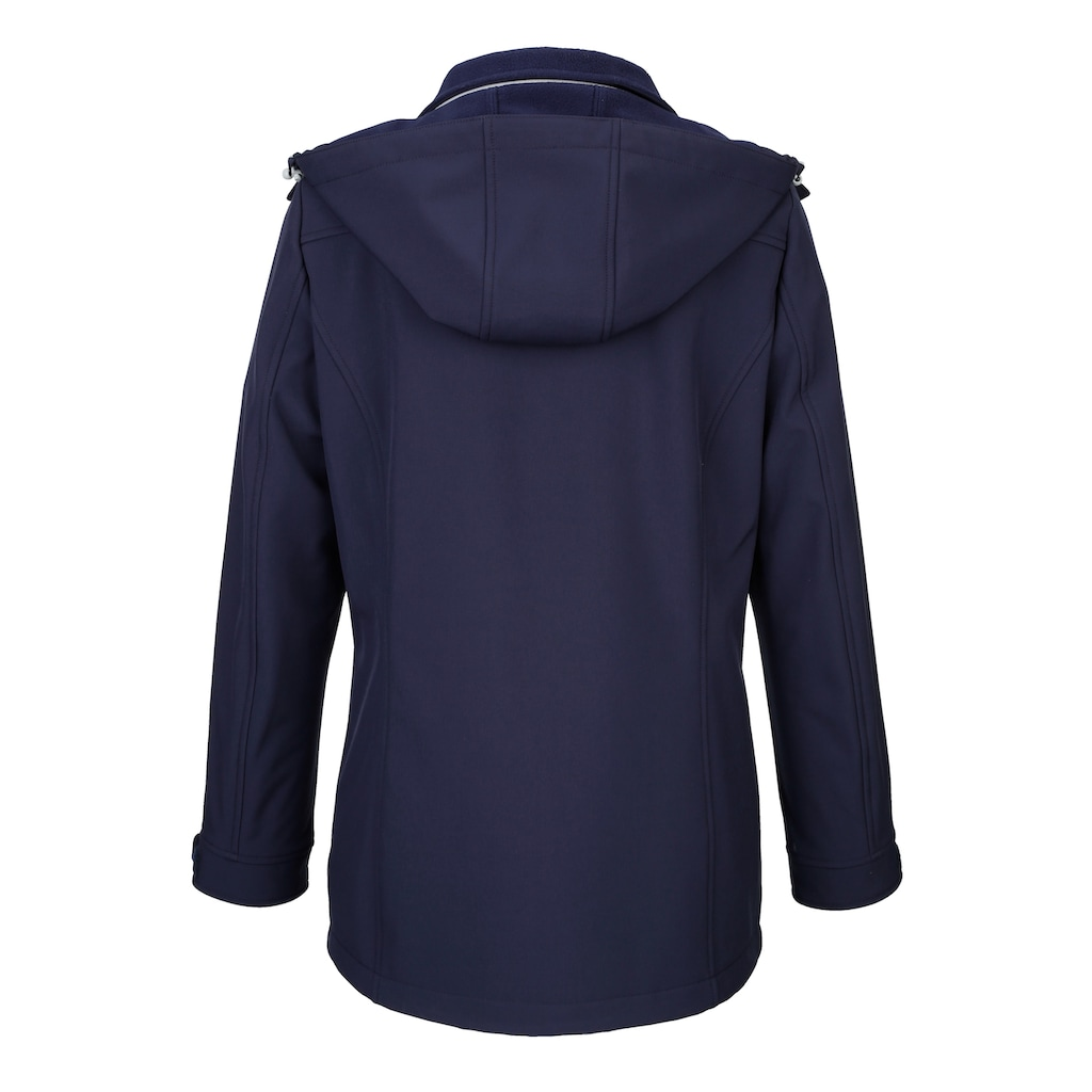 Dress In Jacke mit abnehmbarer Kapuze