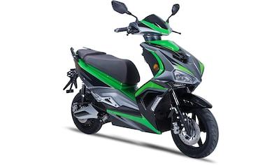 GT UNION E-Motorroller »eStriker 45 km/h«, 3000 W, 45 km/h, Euro 6, 70 km, 4,2 PS, USB... kaufen