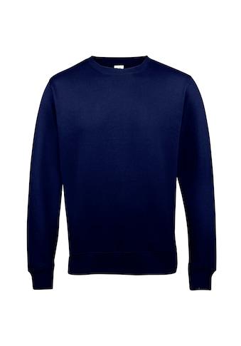 AWDIS Rundhalspullover »Just Hoods Unisex Sweatshirt mit Rundhalsausschnitt« kaufen