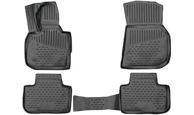 WALSER Passform-Fußmatten »XTR«, BMW, X3, Geländewagen, (4 St., 2 Vordermatten, 2... kaufen