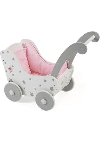 """CHIC2000 Puppenwagen """"Stars, grau"""" kaufen"""