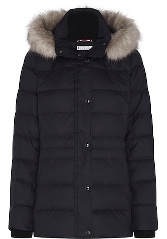 TOMMY HILFIGER Steppjacke »TH ESS TYRA DOWN JKT WITH FUR« kaufen