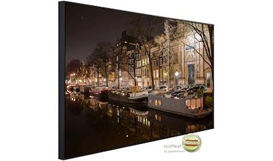 Papermoon Infrarotheizung »Nacht in Amsterdam«, sehr angenehme Strahlungswärme kaufen