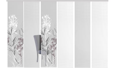 Vision S Schiebegardine »6ER SET SEMORA«, HxB: 260x60, Schiebevorhang 6er Set... kaufen