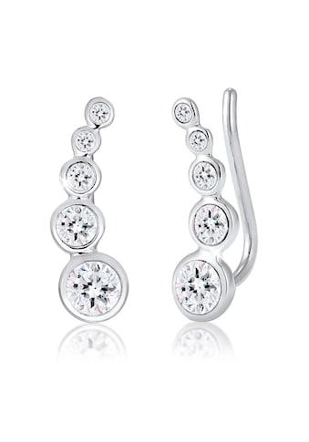 Elli Paar Ohrstecker »Ohrklemme Ear Cuffs mit Swarovski® Kristalle« kaufen