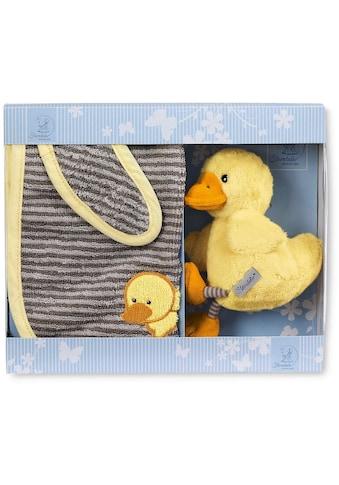 Sterntaler® Kuscheltier »Geschenk-Set Edda Baby«, mit Lätzchen kaufen