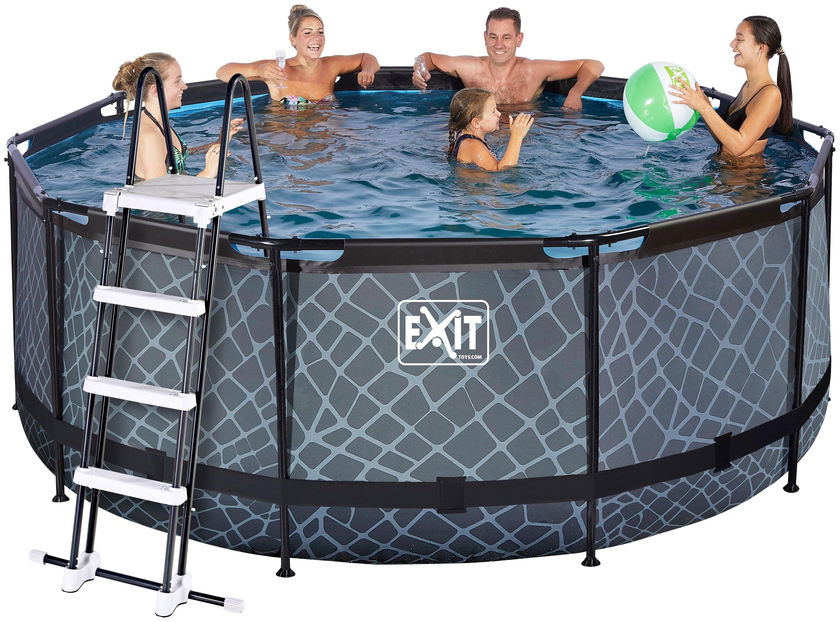 exit frame pool