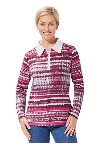 Casual Looks Winter - Shirt mit markantem Muster kaufen