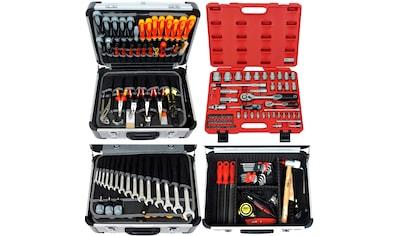 FAMEX Werkzeugset »418-20«, (Set, 194 St.), im Werkzeugkoffer kaufen