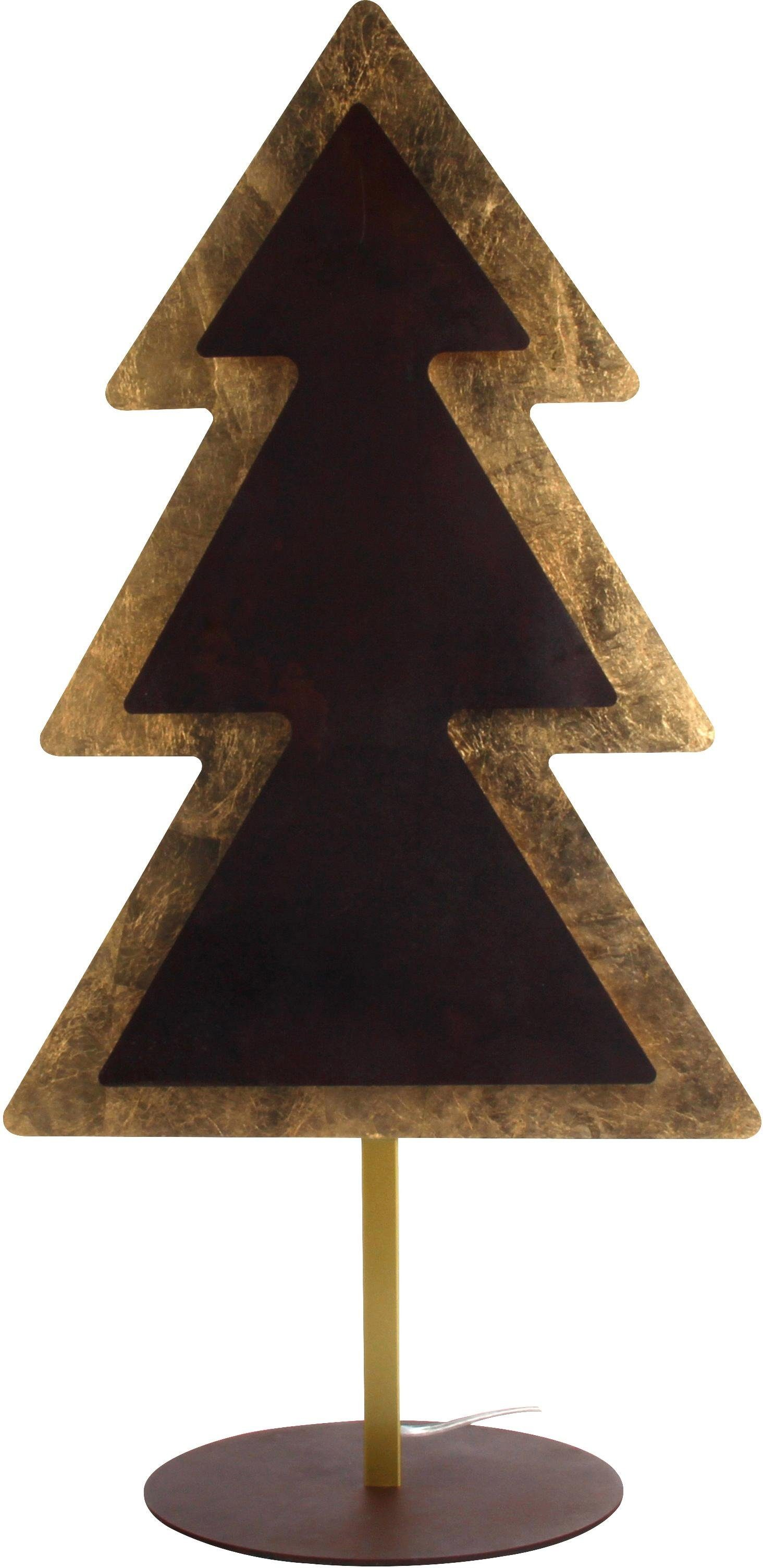 WOFI Tischleuchte MEALLA, LED-Board, Warmweiß