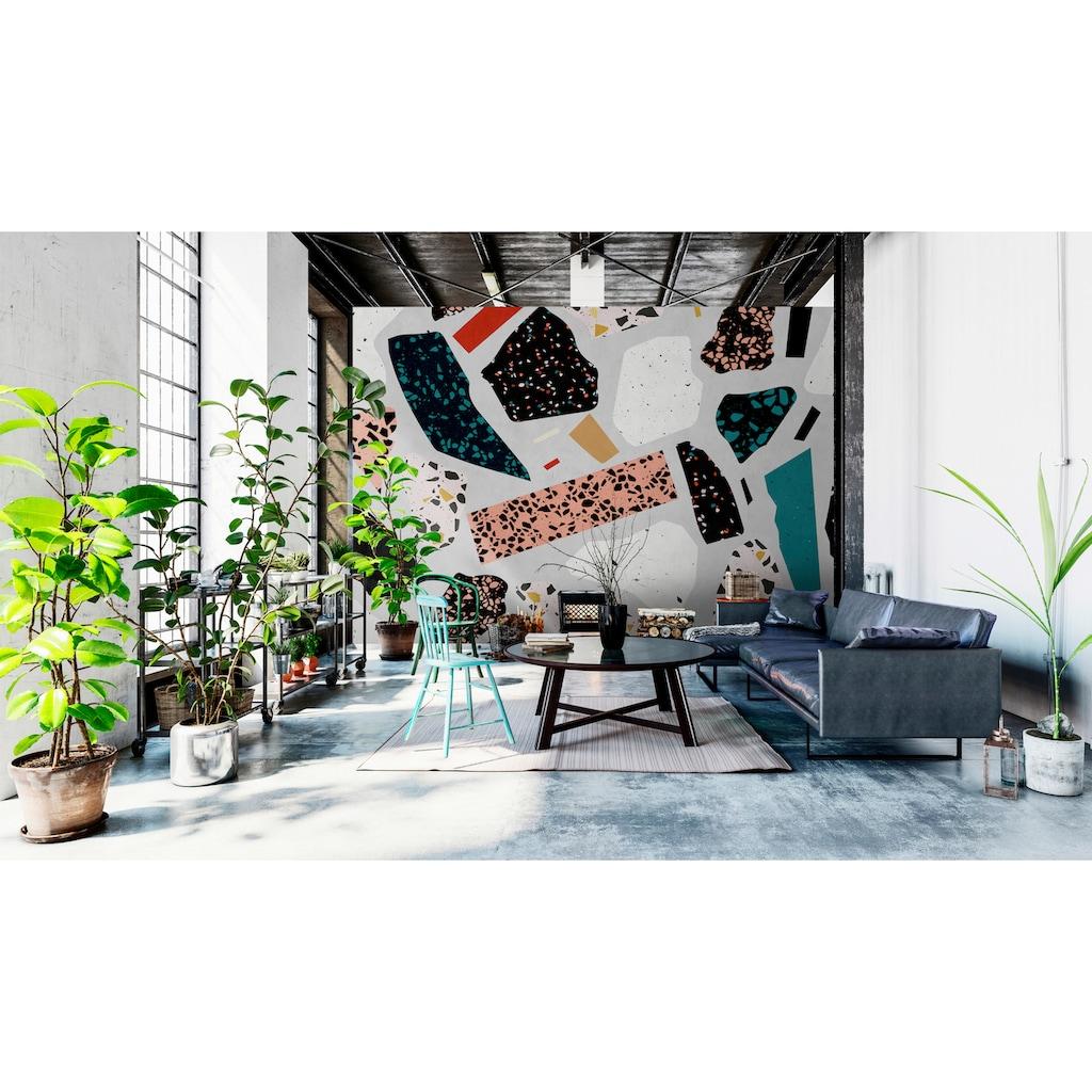 living walls Fototapete »Walls by Patel Terrazzo 1«