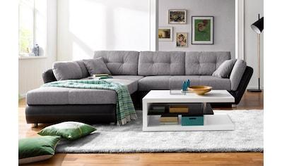 Jockenhöfer Gruppe Ecksofa, inklusive Bettfunktion und Bettkasten kaufen