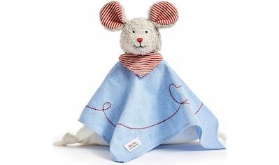 Käthe Kruse Kuscheltuch »Maus Robin Schmusetuch«, mit Herzstickerei kaufen