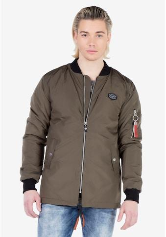 Cipo & Baxx Outdoorjacke, mit praktischer Zipper-Ärmeltasche kaufen