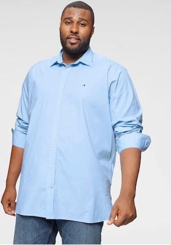 Tommy Hilfiger Big & Tall Langarmhemd »BIG & TALL STRETCH POPLIN SHIRT« kaufen