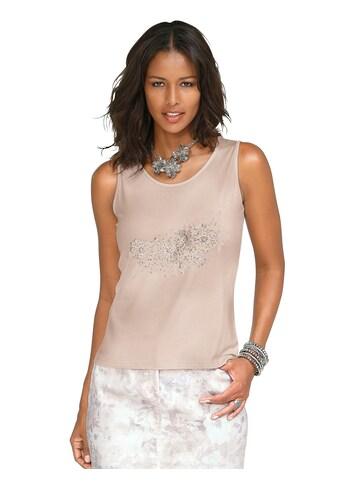 Alessa W. Shirttop mit Glitzersteinchen kaufen