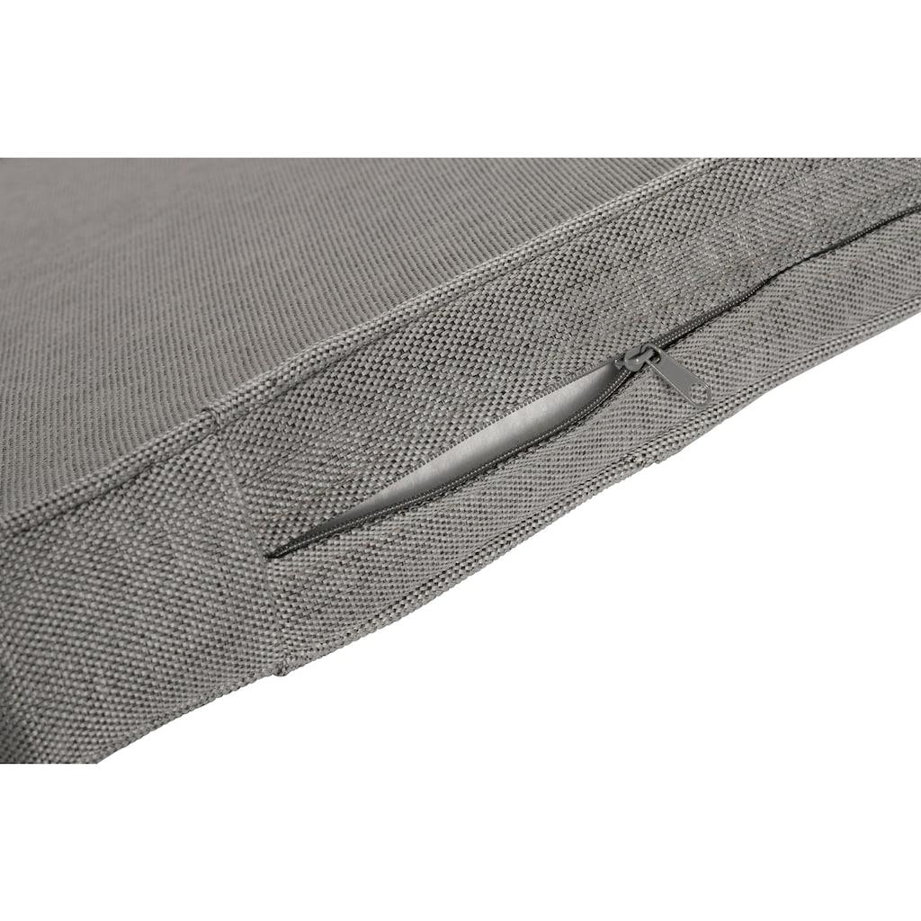KONIFERA Loungeset »Amsterdam«, (16 tlg.), 3er Sofa, 2 Sessel, 2 Hocker, Tisch, Polyrattan