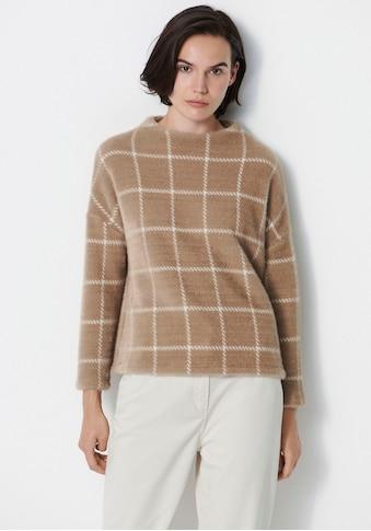 someday Sweatshirt »Ukaro«, mit großflächigem Karo-Muster kaufen
