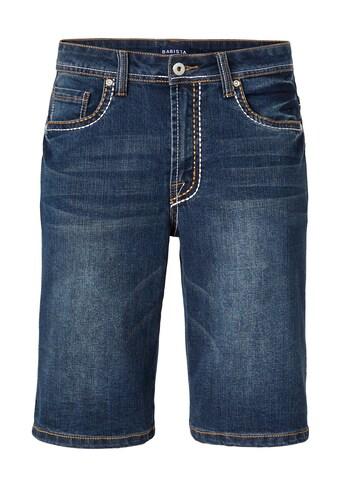 Babista Jeansbermuda mit modischen dicken Nähten kaufen