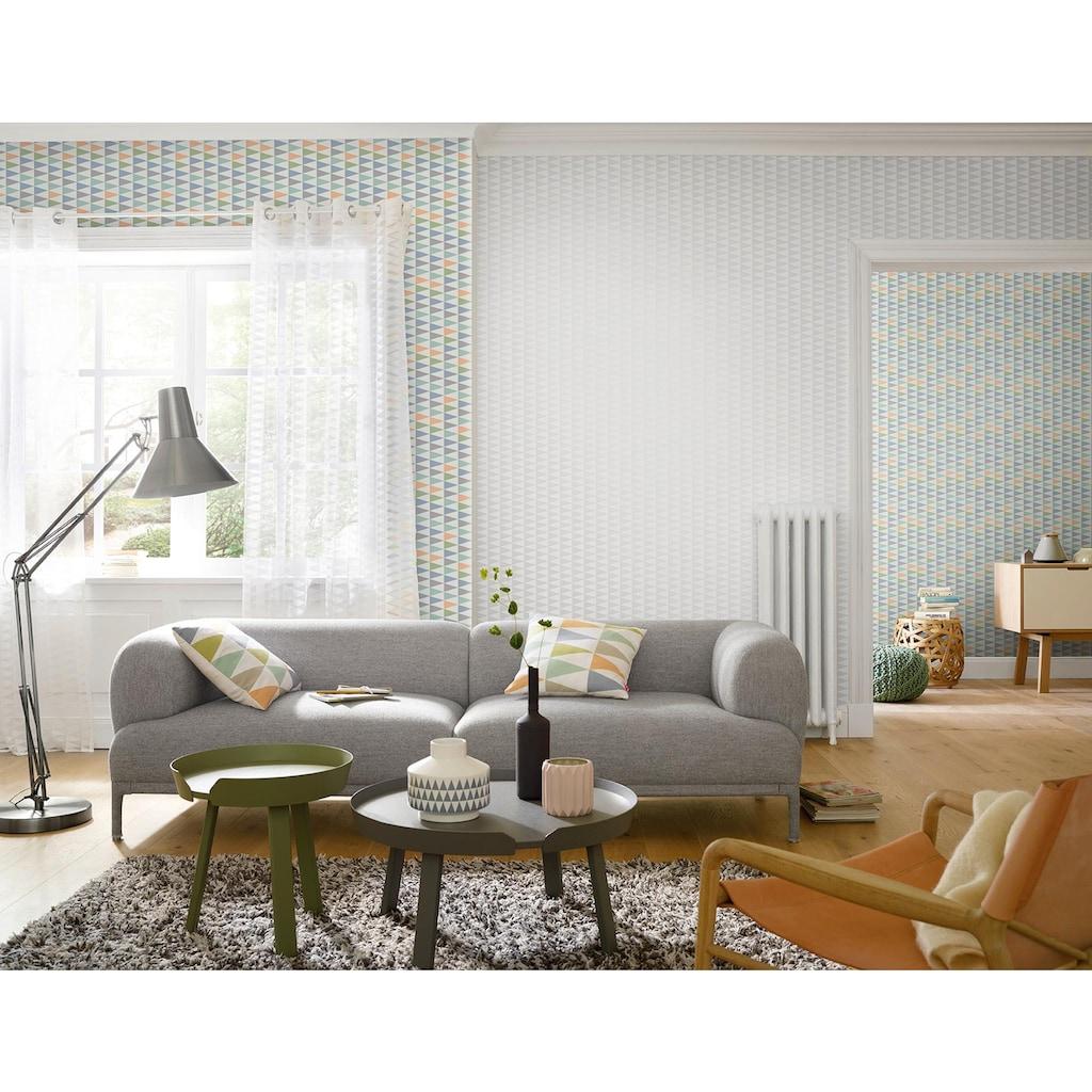 Gardine, »FD Nordic Living«, freundin Home Collection, Ösen 1 Stück
