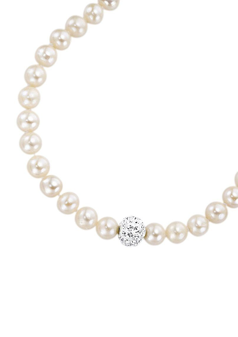 firetti Halsschmuck: Collier/Kette mit Perlen u...