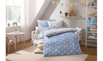 Lüttenhütt Kinderbettwäsche »Stella«, mit niedlichen Sternen kaufen