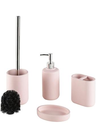 welltime Badaccessoires-Sets »Maxime«, Set: 4 tlg., inkl. Ersatzbürstenkopf für WC-Bürste kaufen