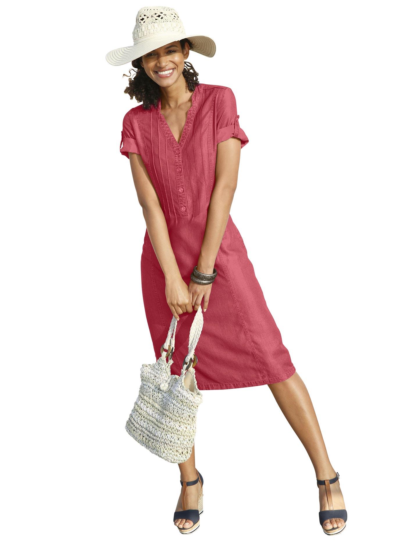 Casual Looks Kleid in weich fließender Qualität