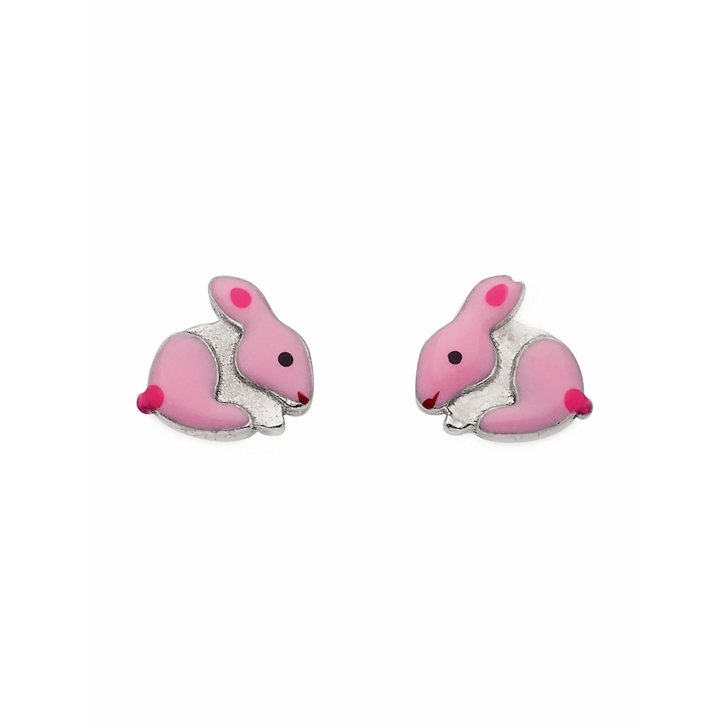 Adelia´s Paar Ohrstecker »925 Silber Ohrringe / Ohrstecker Hase«, Silberschmuck für Damen