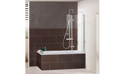 Dusbad Badewannenfaltwand »Vital 1 Aufsatz/ Drehfalttür«, Anschlag links 120 cm kaufen