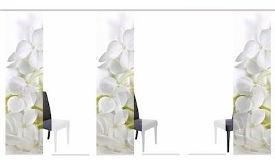 HOME WOHNIDEEN Schiebegardine »PADUA«, HxB: 245x60, inkl. Befestigungszubehör kaufen