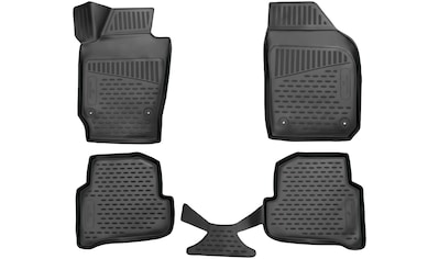 WALSER Passform-Fußmatten »XTR«, Skoda, Fabia, Kombi-Schrägheck, (4 St., 2... kaufen