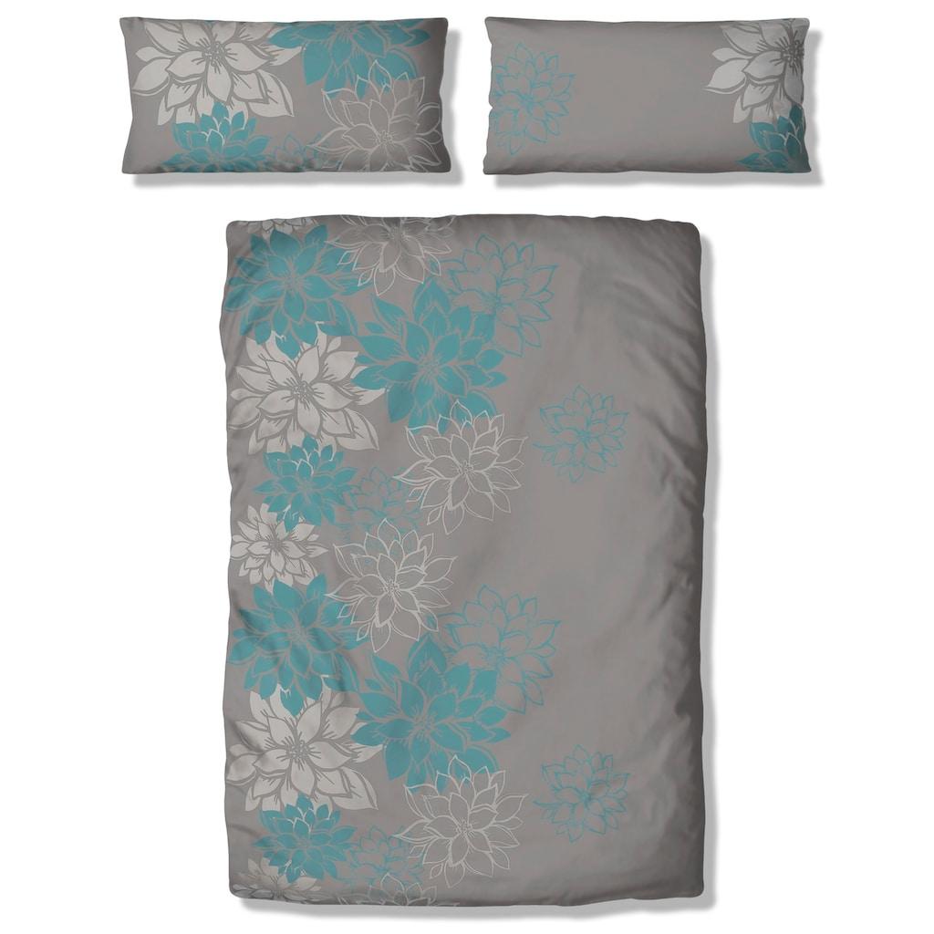 Home affaire Bettwäsche »Susan«, mit wunderschönen Blumen