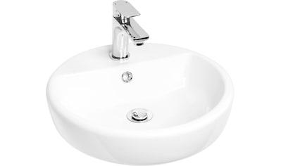 CORNAT Kombi - Set: Aufsatz - Waschbecken »Caspia Ring«, inkl. Einhebelmischer kaufen