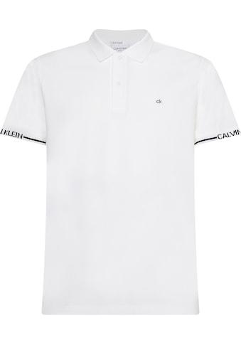 Calvin Klein Poloshirt »LOGO CUFF SLIM FIT POLO« kaufen