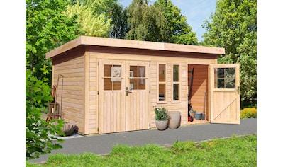 KARIBU Gartenhaus »Tegel«, BxT: 456x303 cm, mit Nebenraum kaufen