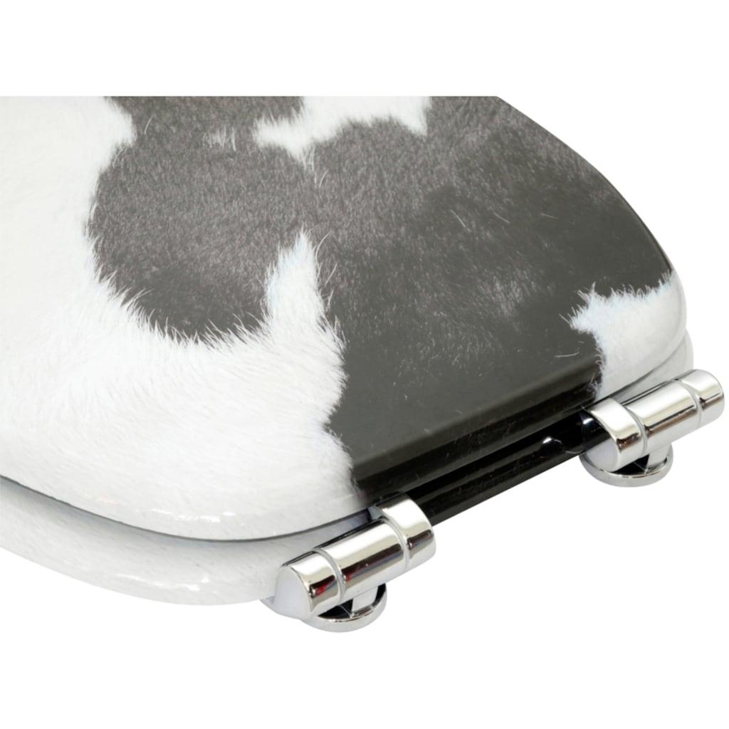 Sanilo WC-Sitz »Kuhflecken«, mit Absenkautomatik